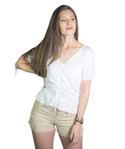 Blusa Dama Blanco Wanna BWS-234