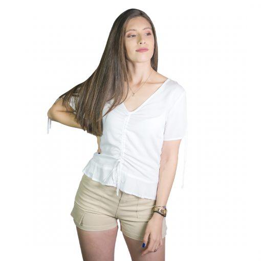 Blusa Dama Blanco Wanna BWS-234