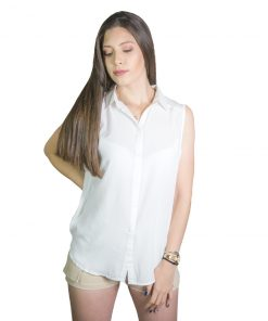Musculosa Dama Blanco Wanna REM-D-34