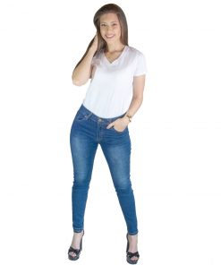 Jeans Damas Azul Lavado Wanna JEA-M-49
