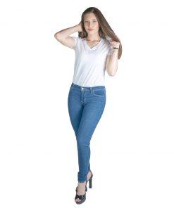 Jeans Damas Celeste Azul Oscuro Super Skinny 710 Levi´s LEV-D-10