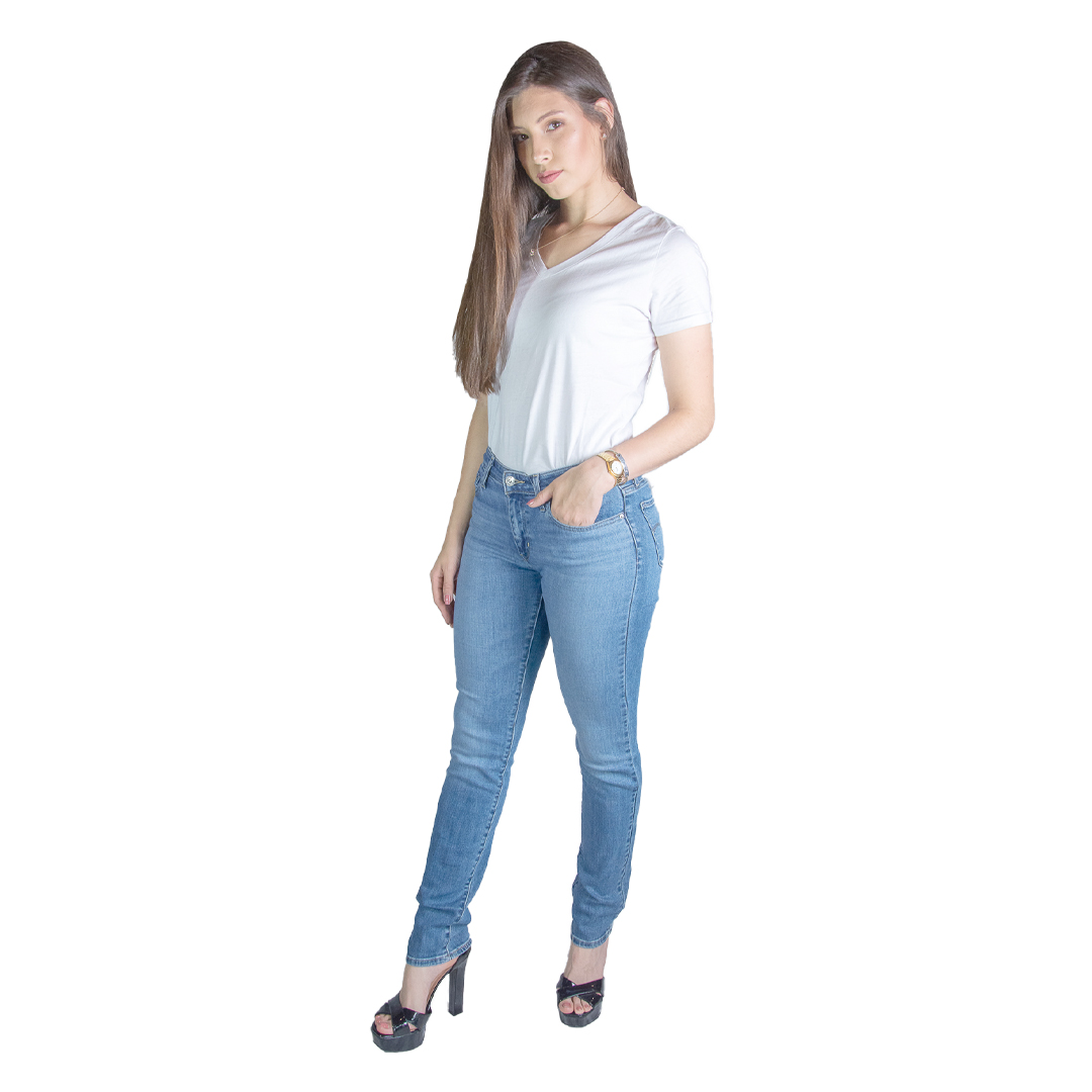 Jeans Damas Azul Slim 712 Levi´s LEV-D-9