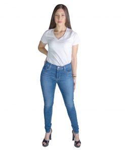 Jeans Damas Azul High Rise Super Skinny Levi´s LEV-D-8