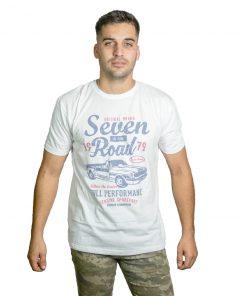 T-Shirt Hombre Blanco Seven RHU-183