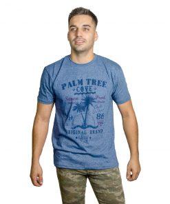 T-Shirt Hombre Azul Seven RHU-188