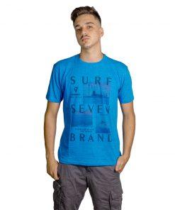 T-Shirt Hombre Azul Seven RHU-191