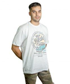 T-Shirt Hombre Blanco Seven RHU-192