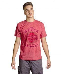 T-Shirt Hombre Rojo Seven RHU-193
