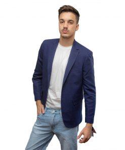 Blazer para Hombres Azul Christian Bordeaux BLE-H-10