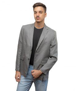Blazer para Hombres Gris Christian Bordeaux BLE-H-15