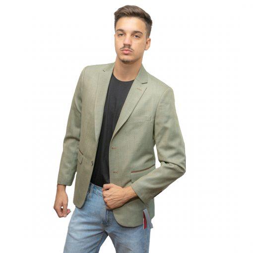 Blazer para Hombres c/Coderas Christian Bordeaux BLE-H-17