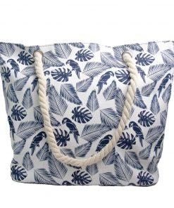 Bolsos Dama de Playa con Detalles en Azul CAR-D-35