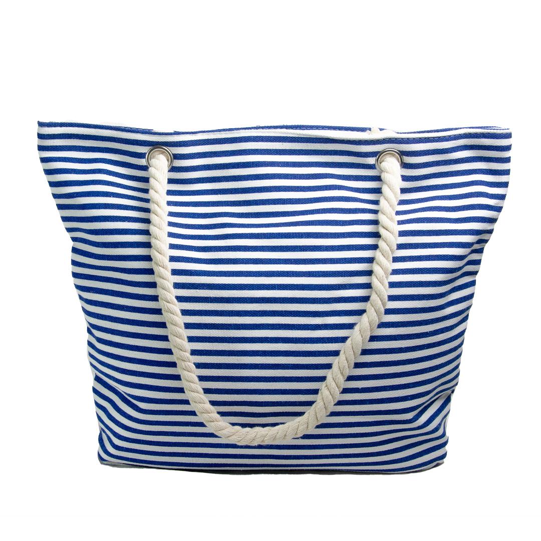 Bolsos Dama de Playa Azul a Rayas CAR-D-39