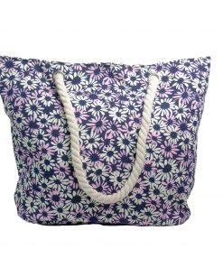 Bolsos Dama de Playa Flores Violetas CAR-D-42
