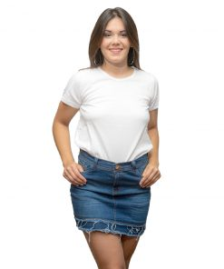 T-Shirt Dama Wanna Blanco RHU-196