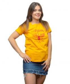T-Shirt Dama Wanna Amarillo RHU-205