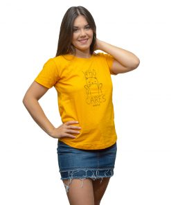 T-Shirt Dama Wanna Amarillo RHU-206