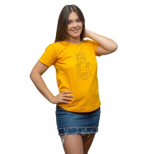 T-Shirt Dama Wanna Amarillo RHU-206