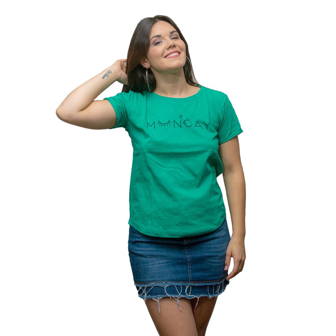 T-Shirt Dama Wanna Verde RHU-207