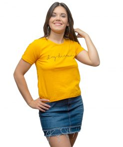 T-Shirt Dama Wanna Amarillo RHU-209