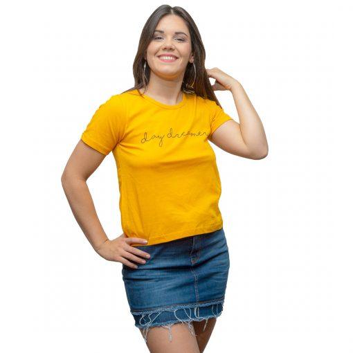 T-Shirt Dama Wanna Amarillo RHU-209