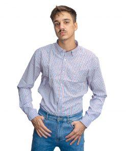 Camisa Hombre a Rayas Oxx-Absolut CAM-H-113