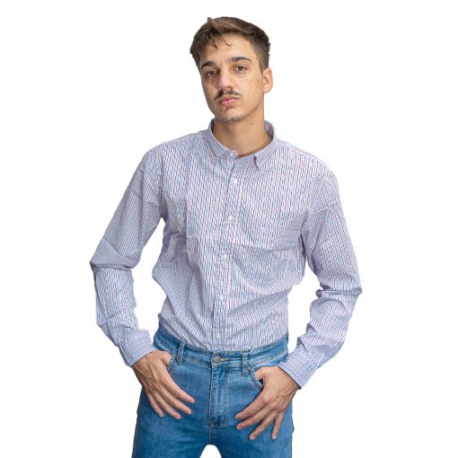 Camisa Hombre a Rayas Oxx-Absolut CAM-H-113