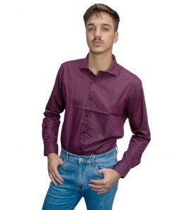 Camisa Hombre Violeta Halogen CAM-H-115