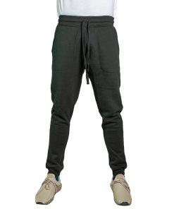 Pantalón Hombre Deportivo Negro con Puño Halogen CDH-67