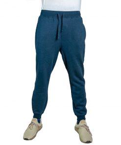 Pantalón Hombre Deportivo Azul con Puño Halogen CDH-68