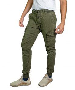 Pantalón Cargo Hombre Verde Oxx-Absolut CAG-05