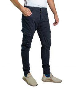 Pantalón Cargo Hombre Azul Oxx-Absolut CAG-06