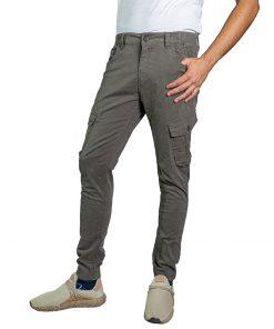 Pantalón Cargo Hombre Gris Oxx-Absolut CAG-08