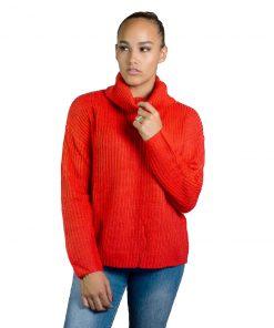 Buzo Dama de Hilo Rojo Wanna BDL-149