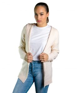 Cardigan Dama Beige Wanna BDL-209