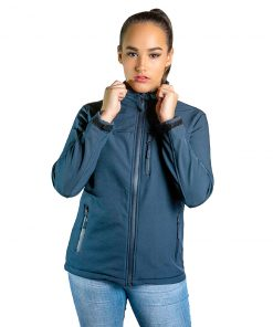 Campera Dama Neopreno Azul Wanna BDL-204