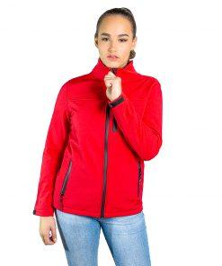 Campera Dama Neopreno Rojo Wanna BDL-205