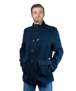 Saco Hombre de paño con cierre y botones Azul Legacy CDH-115