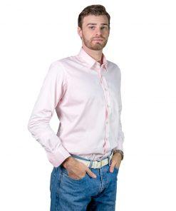 Camisa Hombre Rosa Legacy CAM-H-123