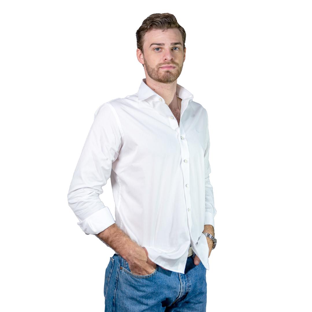 Camisa Hombre Blanco Legacy CAM-H-124