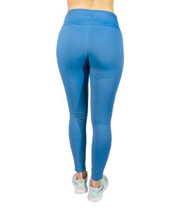 Calza Dama Legging c/detalles Azul Wanna LW-04