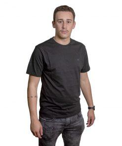 T-Shirt Hombre Negro Legacy RHU-215