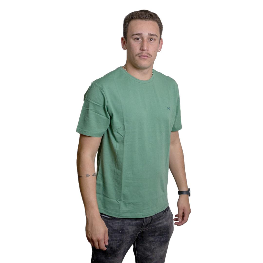 T-Shirt Hombre Verde Legacy RHU-217