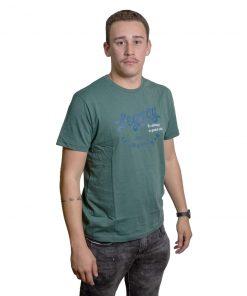 T-Shirt Hombre Verde Estampado Legacy RHU-220