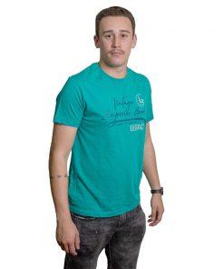 T-Shirt Hombre Verde Estampado Legacy RHU-222