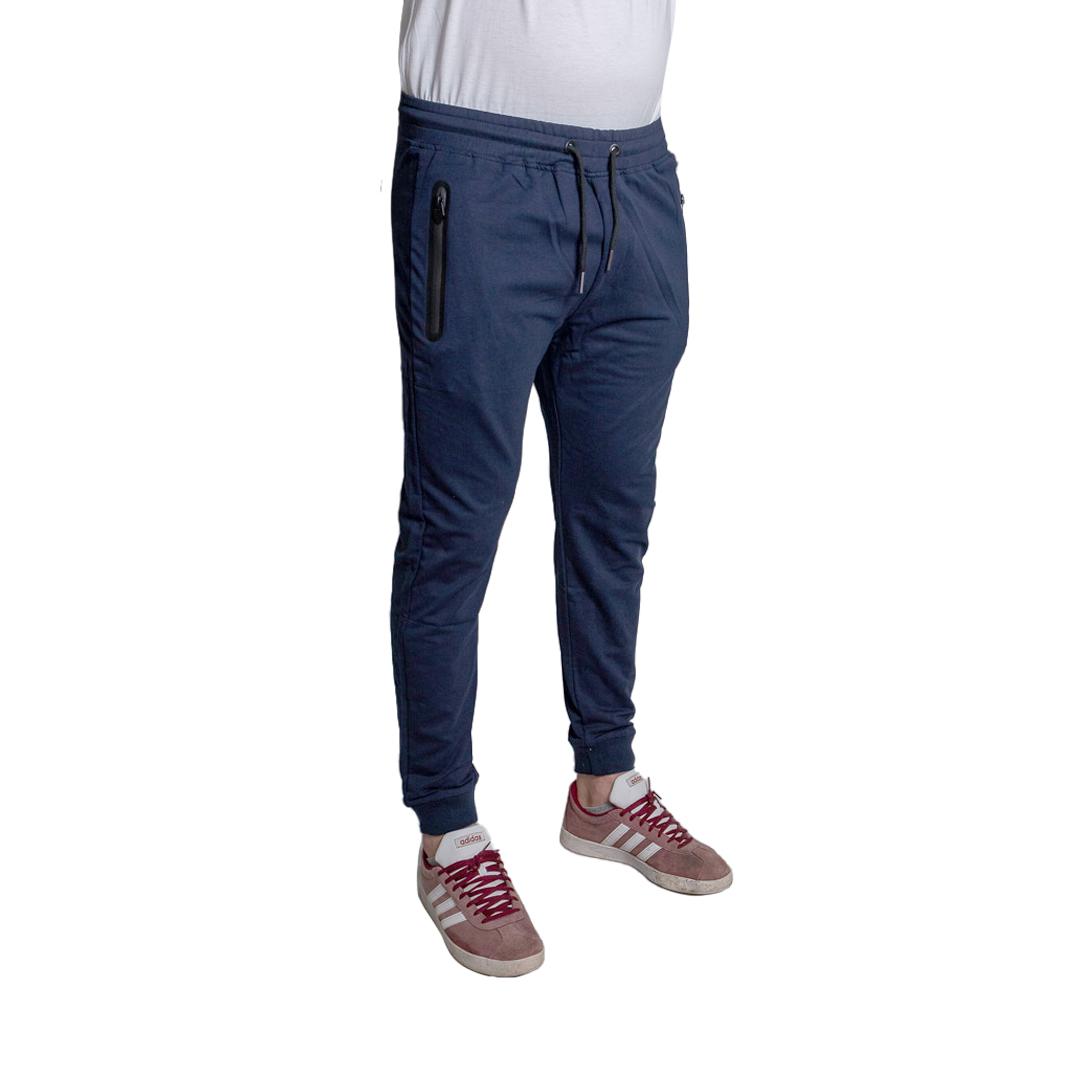 Pantalón Hombre Deportivo Azul Halogen CDH-124