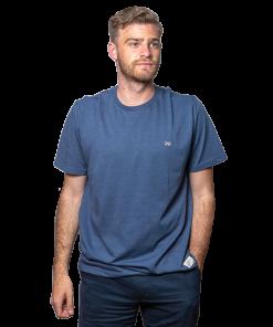 T-Shirt Hombre Azul Legacy RHU-249