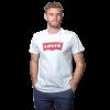 T-Shirt Hombre Blanco Estampado Levi´s RHU-255