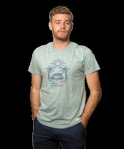 T-Shirt Hombre Verde Legacy RHU-260