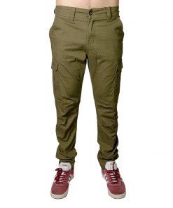 Pantalón Hombre Cargo Verde Oxx-Absolut PAN-2